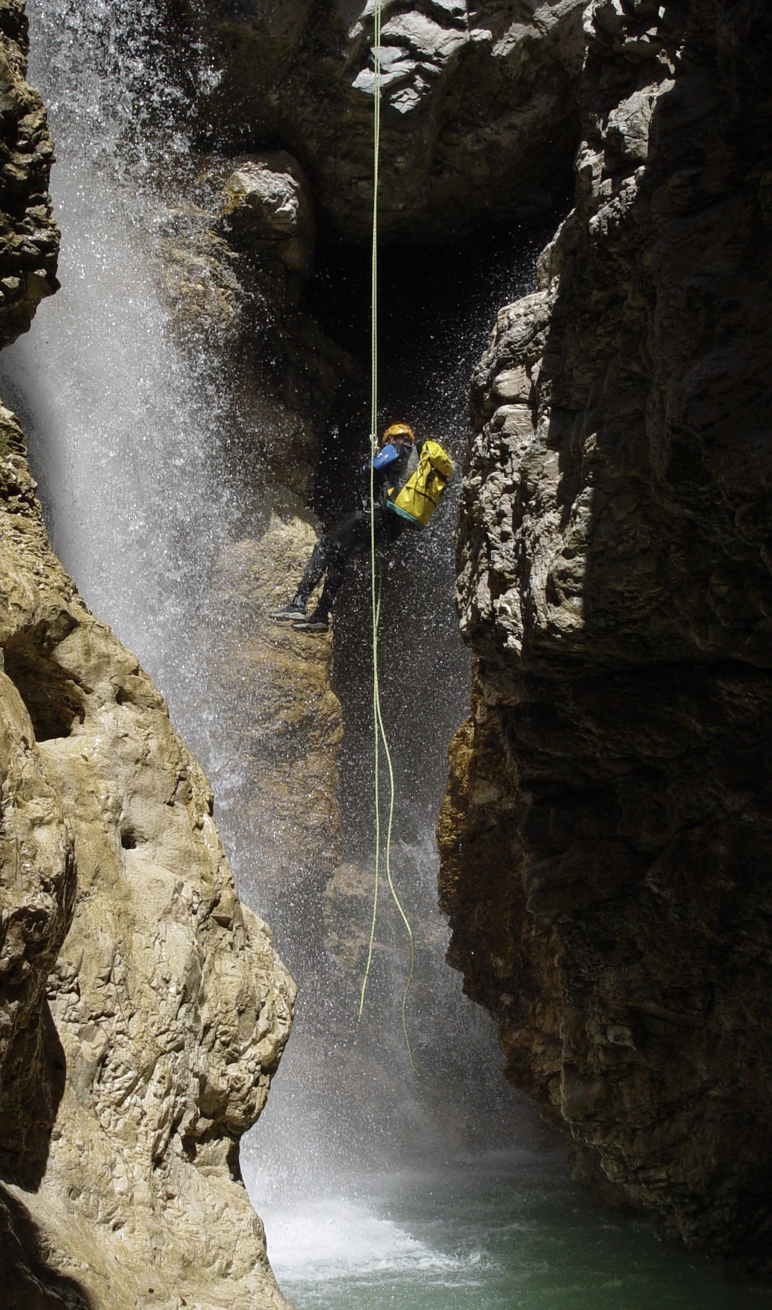 Canyoningtour Rio Simon